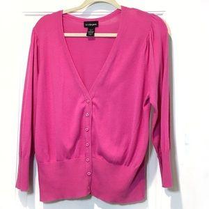 Pink Cardigan size 14/16